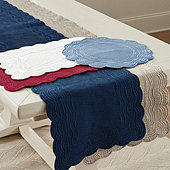 Marseille Quilted Table Linens