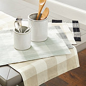 Buffalo Check Table Linens