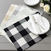 Buffalo Check Placemat - Set of 4