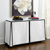 Paneled Console Tablecloths