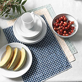 Bitsy Gingham Placemats - Set of 4