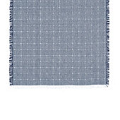 Carmel Fringed Windowpane Runner
