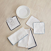 Crochet Edge Napkins