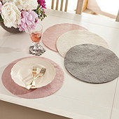 Maribel Felt Placemats - Set of 4