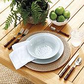 Rosa Melamine Dinnerware