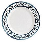 Bunny Williams Watercolor Iris Melamine Dinner Plates - Set of 4