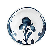 Bunny Williams Watercolor Iris Melamine Bowl - Set of 4