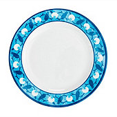 Bunny Williams Blue Melamine Dinner Plate - Set of 4