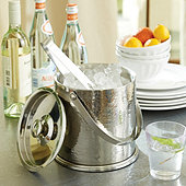 Avalon Double Walled Ice Bucket with Tongs