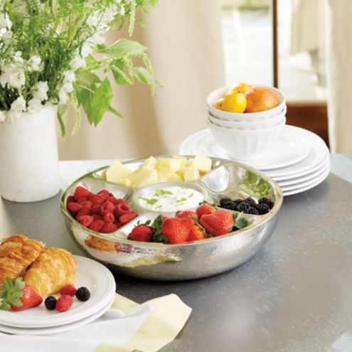 Avalon Double Walled Hors d'Oeuvres Tray