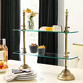 Patisserie Glass Serving Stand