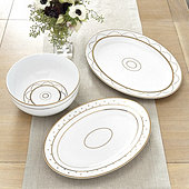 Bunny Williams Gold Star Serveware