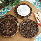 Grapevine Charger - Set of 4