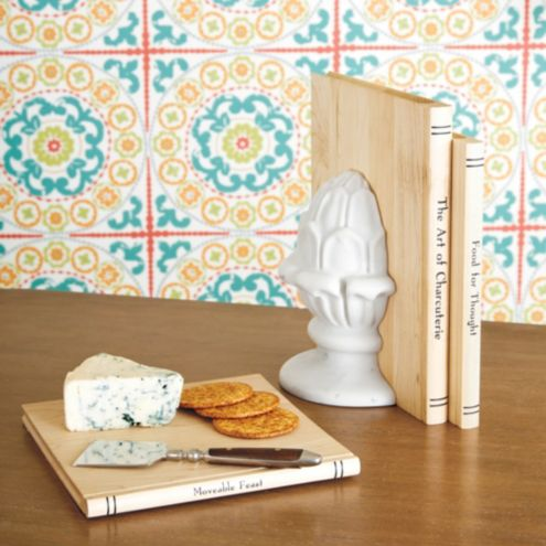 Culinary Books Wood Cutting Boards Set