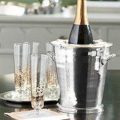 Bunny Williams Silver Wine Cooler