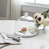 Windsor Marble Glass Cloche
