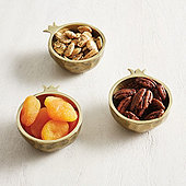 Pomegranate Petite Bowls - Set of 3