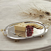 Alina Leaf Serving Tray