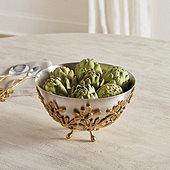 Mistletoe Serving Bowl
