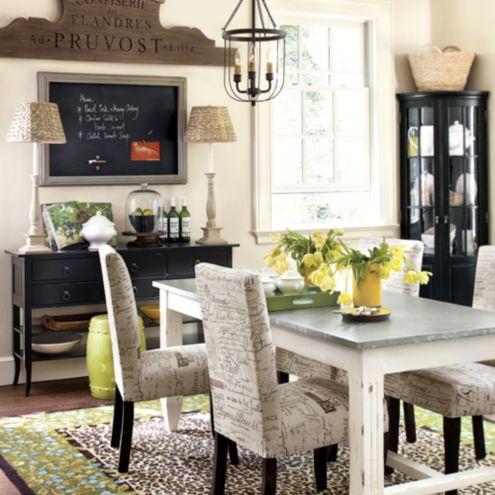Lucus Dining Room Furniture Collection Ballard Designs
