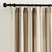 Tatem Thin Striped Sheer Panel