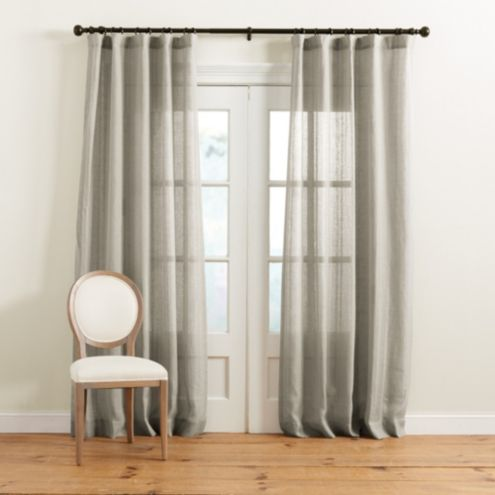 Beckman Striped Sheer Drapery Panel
