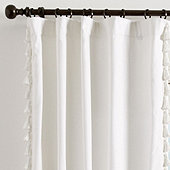 Tassel Trim Drapery Panel