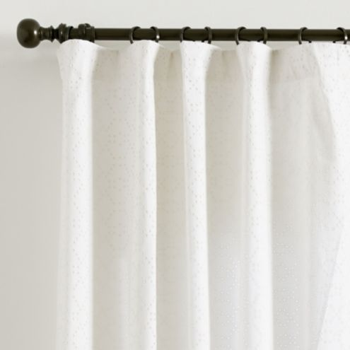 Eyelet Trellis Curtain Panel