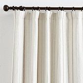 Suzanne Kasler Signature 13oz Linen Cote Stripe Drapery Panel