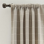 Jones Windowpane Drapery Panel