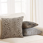 Leopard Skin Sunbrella Performance Pillow