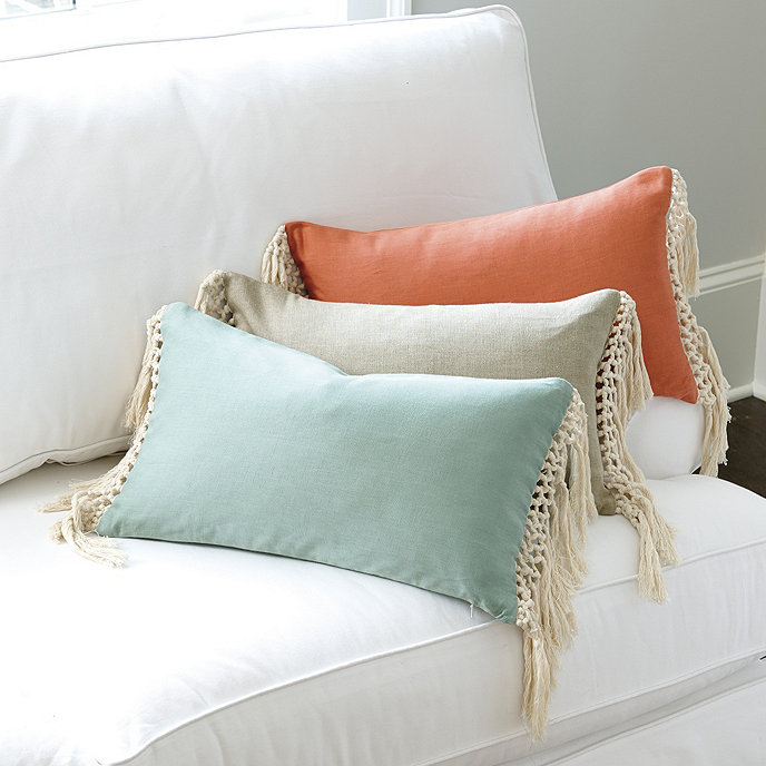 Ballard Design Pillows tassel pillow | ballard designs | ballard designs