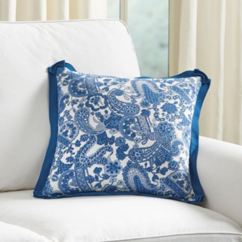Charlotte Pillow Cover Blue
