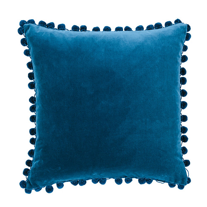 Ballard Design Pillows signature velvet pom pom pillows | ballard designs | ballard designs