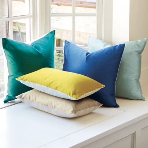 Dupioni Silk & Linen Pillow