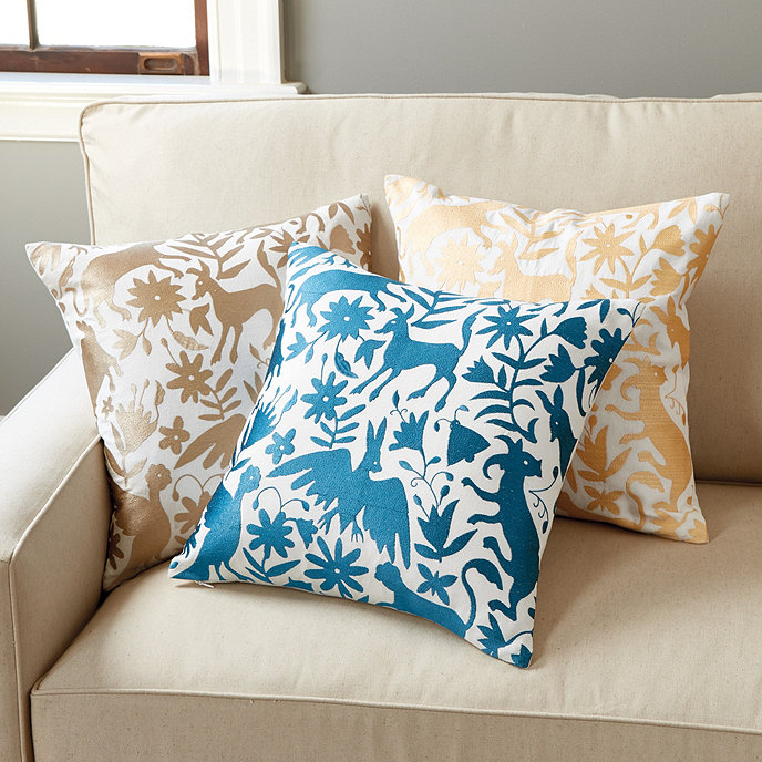 Ballard Design Pillows otomi embroidered pillow | ballard designs | ballard designs