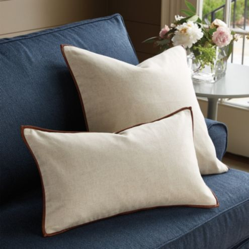 Ethan Leather Accent Pillow Cover