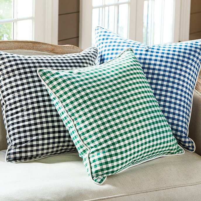 Ballard Design Pillows ellery gingham pillow | ballard designs | ballard designs