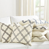 Rosselli Embroidered Pillow