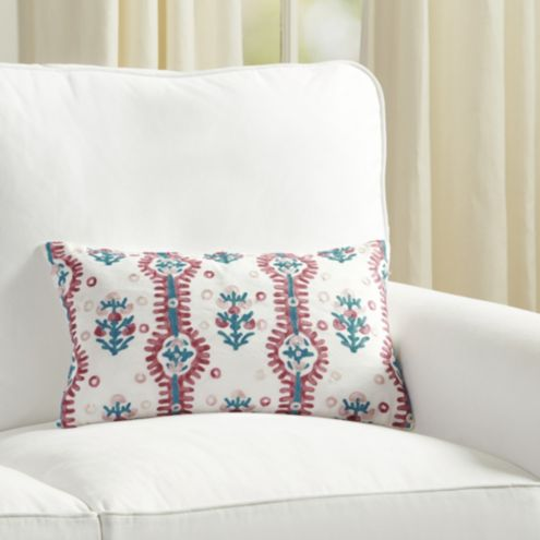 Suzanne Kasler Elba Embroidered Pillow