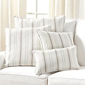 Suzanne Kasler Signature 13oz Linen Pillow Cover in Cote Stripe Sky