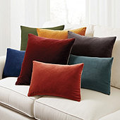 Signature Velvet & Linen Pillow