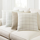 Jones Windowpane Pillow