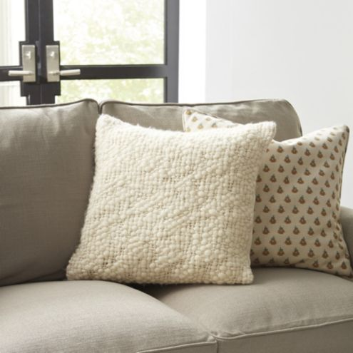 Moab Chunky Knit Throw Pillow