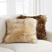 Lush Faux Fur Pillow