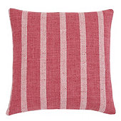 Spencer Stripe Pillow Cover - Red