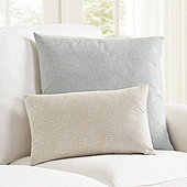 Posey Dotted Jacquard Pillow Cover