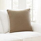 Bellport Burlap Pillow Cover