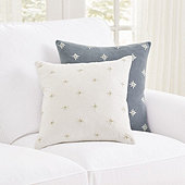 Celestial Embroidered Pillow Cover