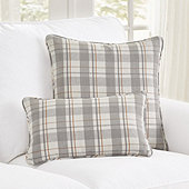 Suzanne Kasler McNeal Plaid Pillow